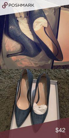 """Brand new Nine West pumps 4"""" heels.  Very nice! Sky blue Nine West Shoes Heels"""