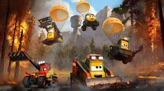 Meet the Characters from Planes: Fire & Rescue