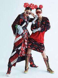 Sung Hee Kim for Vogue Korea (December photo shoot by Bo. Quirky Fashion, Asian Fashion, Fashion Art, Editorial Fashion, Fashion News, High Fashion, Fashion Design, Vogue Korea, Asian Style