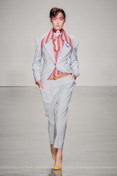 Look 01 at Vivienne Westwood #SS15 Red Label