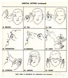 Vintage Sign Language encyclopedia
