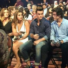Dolan twins at the teen choice awards