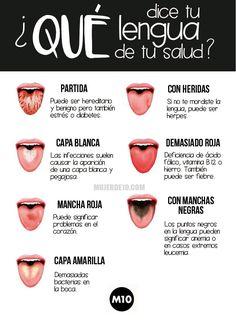La apariencia de tu lengua puede significar mucho más de lo que crees. De hecho puede darte muchas pistas de tu salud. Checa los síntomas más comunes.  También te puede interesar: Las 8 peores cosas que puedes hacer cuando tienes cistitis