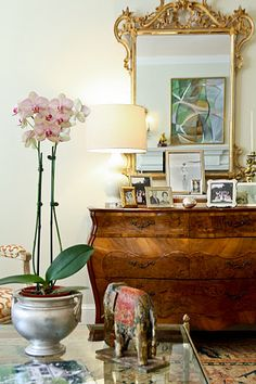 Bombe' commode + design inspiration eclectic mix