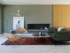 DESIGNERS YASMINE GHONIEM + KATY SVALBE - love the vibe, simplicity of colors and items in room