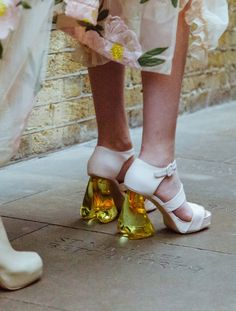 Behind-the-scenes at Simone Rocha during London Fashion Week. Photographed by Driely S.