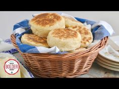 All the nooks and crannies you love made right at home with my Homemade English Muffins recipe — this fermented dough has no need for a starter!