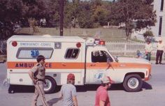Early Frisco Fire Department ambulance.