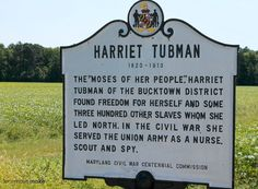Harriet Tubman Underground Railroad Visitor Center - Maryland