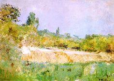 Landscape, Île-de-France / Edouard Vuillard - circa 1900