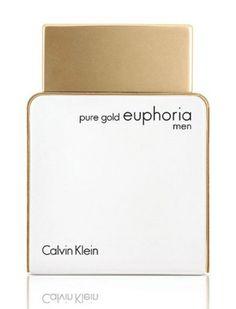 Pure Gold Euphoria Men Calvin Klein cologne - a new fragrance for men 2017