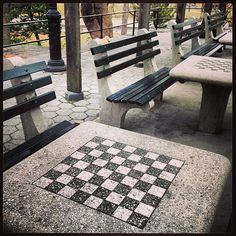 The game center in Central Park. Chess, anyone? http://korenreyes.com