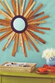 Love these ruler craft ideas. great idea for teacher gift