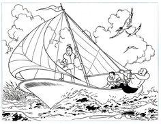 Vandersteen Studio. Suske en Wiske. Origineel. Puzzel 2. 1977. Originele tekening gemaakt door Studio Willy Vandersteen en Paul Geerts. Ze maakten deze tekening van de puzzel reeks in opdracht voor Scriptoria in 1977. De tekening is gemaakt in Oost Indische inkt. De potlood lijntjes zijn nog hier en daar te zien. het formaat van deze mooie tekening is 30 x 23 cm - W.B.