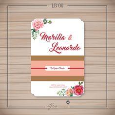 Convite Casamento Primavera