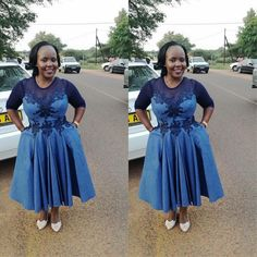 Traditional Attire 2019 For South African Women Setswana Traditional Dresses, African Traditional Wedding Dress, African Wedding Dress, African Weddings, African Print Fashion, African Fashion Dresses, Ankara Fashion, Africa Fashion, African Prints