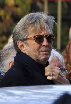 Eric Clapton - Funeral, Oct. 2014 Held for Jack Bruce his long time drummer mate