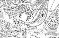 Disused Stations: Oldham Central Station Disused Stations, Central Station, Urban Landscape, Maps, Models, Times, Templates, Blue Prints, Map