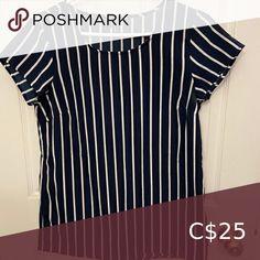 Vero Moda Short Sleeve Blouse In perfect condition Vero Moda Tops Blouses