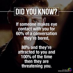 If Someone Makes Eye Contact With You - https://themindsjournal.com/someone-makes-eye-contact/