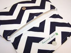 Super cute clutch. Chevron Anchor Clutch in Choice of Colors by jadejourney on Etsy, $30.00
