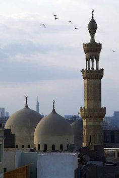 Al Azhar Mosque in Cairo, Egypt