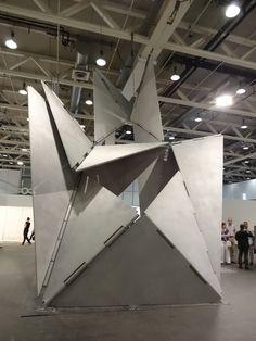 ART BASEL UNLIMITED - Lygia Clark - Fantastic Architecture 1, 1963