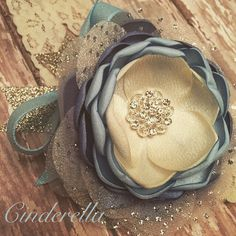 Cinderella Inspired headband www.joellegfritz.etsy.com