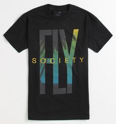Fly Society Paradise Logo Tee - PacSun.com
