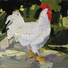 """Chicken Paintings 