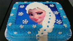Bolo da Elsa: 80 Modelos Fantásticos Para se Inspirar! Bolo Frozen, Bolo Elsa, Frozen Birthday Cake, Candyland, Mousse, Food And Drink, Disney Princess, Star Wars, Sky