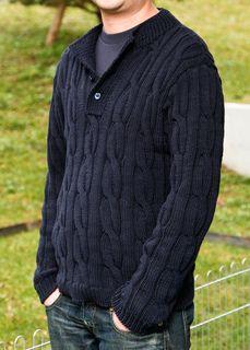 Nice men's sweater.