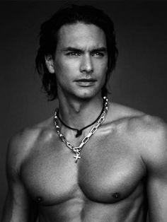 Marcus Schenkenberg, Swedish model, b. Most Beautiful Man, Gorgeous Men, Beautiful People, Marcus Schenkenberg, Blue Green Eyes, Teal Blue, Many Men, Guy Pictures, My Guy