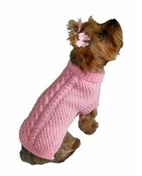 Fisherman Knit Pink Dog Sweater is perfect for this fall & winter season! Irish fisherman knit sweaters inspired this traditional hand knit pink acrylic designer dog sweater. Pet Sweaters, Small Dog Sweaters, Hand Knitted Sweaters, Irish Sweaters, Dog Sweater Pattern, Crochet Dog Sweater, Dog Pattern, Pink Sweater, Dog Crochet