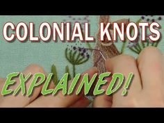 Colonial Knot - YouTube