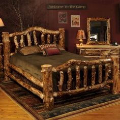 99 Best Rustic Beds Images Rustic Bedding Furniture