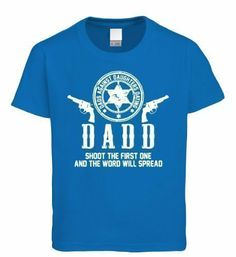 Vectorbomb, Dad's Against Daughters Dating, Mens T-Shirt - Great for Fathers Day