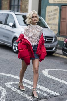 London Fashion Week's Street Style Stars Have an Eye for Details Photos   W Magazine