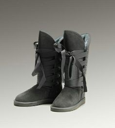 UGG Roxy Tall 5818 Grey Boots For Sale In UGG Outlet - $104.04 Save more than $100, Free Shipping, Free Tax, Door to door delivery