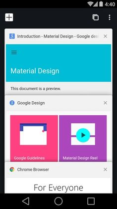Chrome-nettleser – Google-skjermdump