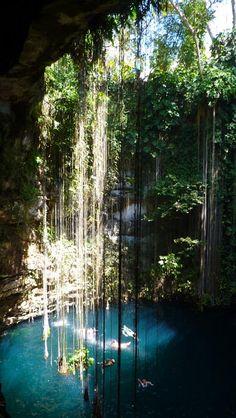 Cenote Ikkil, el más turístico de la Península   El camino más corto
