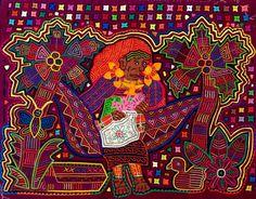Reverse Applique, Fabric Art, Textile Art, Panama, Islands, Textiles, Painting, Shopping
