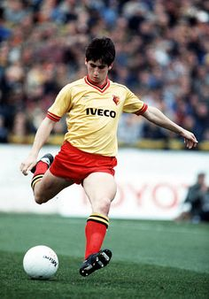 Sport, Football, League Division One, 31st March 1984, Watford 0 v Liverpool 2, Watford's Nigel Callaghan