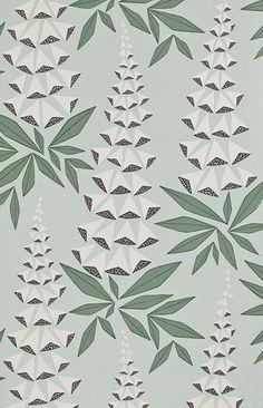 Foxglove+Jade+1145+-+retro+tapet