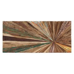 Add natural-inspired style to your living room or den with this eye-catching wall decor, crafted from teak wood and featuring an abstract design. Product: Wall decor Construction Material: Teak woodFeatures: Ready to lbsDimensions: H x W x D