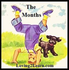 It's easy to learn the months at Loving2Learn.com!