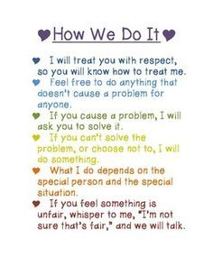 11 best handouts from love and logic images on pinterest healthy love and logic rules poster fandeluxe Gallery