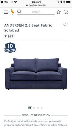 Sofa Bed, Family Room, Fabric, Home Decor, Sleeper Couch, Tejido, Tela, Decoration Home, Room Decor