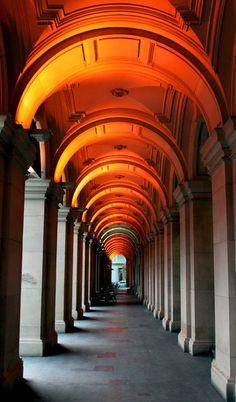 illuminated portal
