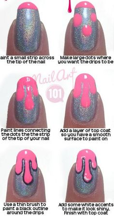 Easy Nail Art Designs For Beginners - Step By Step Tutorials ...